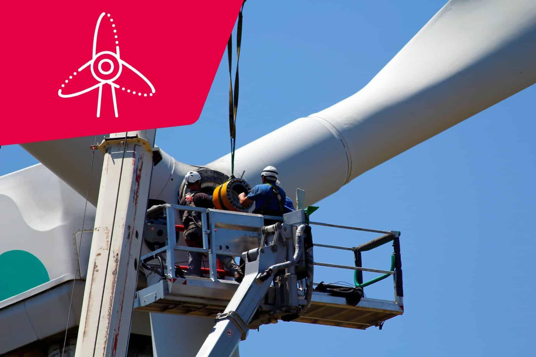 Windkraft - Express- und Kurierlösung